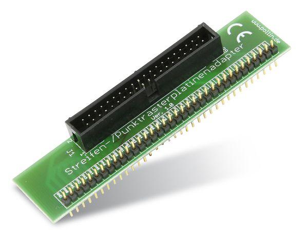 Bausatz Streifen-/Punktrasterplatinen-Adapter