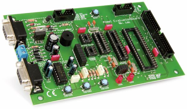 ATMEL Evaluations-Board V2.0.1 - Fertigmodul