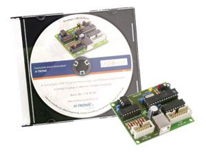H-TRONIC 8-Kanal 12-bit USB-Datenerfassungs-/ Steuermodul - Produktbild 2
