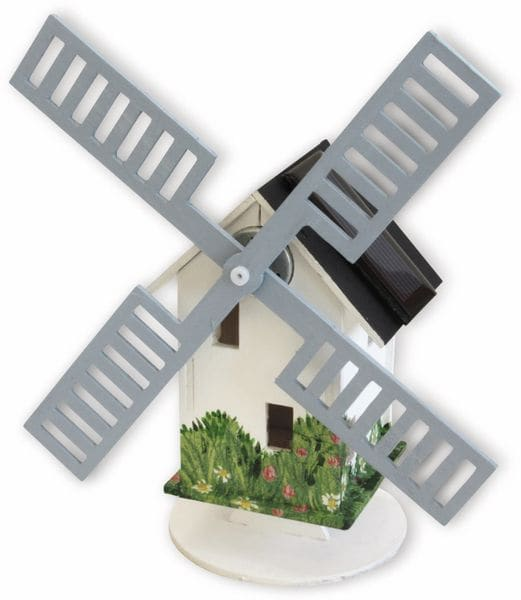 Bausatz Solar-Windmühle HOLLAND