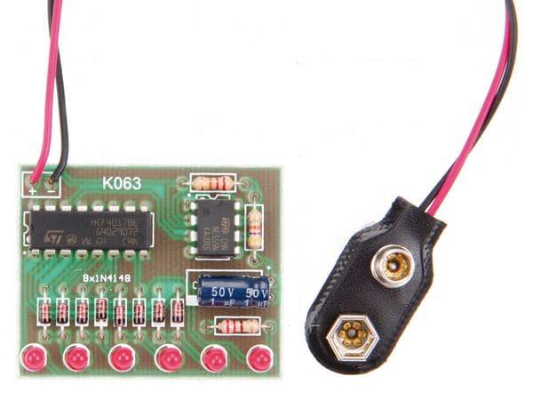 Bausatz 6-Kanal Lauflicht - Produktbild 2