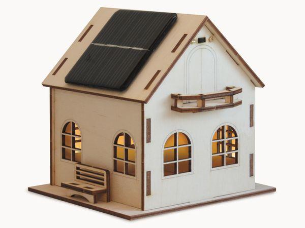 """Bausatz Solarhaus """"Villa Sonnenschein"""""""