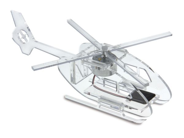 Bausatz Solar Acryl-Hubschrauber