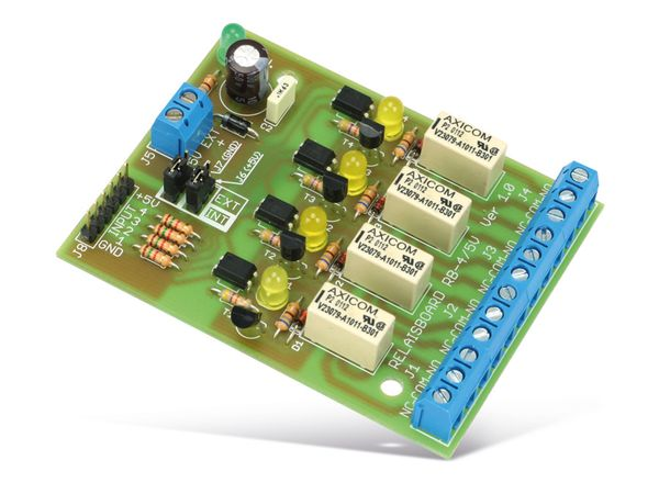 Bausatz Relaiskarte RB-4/5V, 4-Kanal