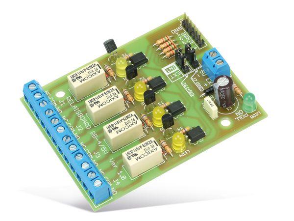 Bausatz Relaiskarte RB-4/5V, 4-Kanal - Produktbild 2