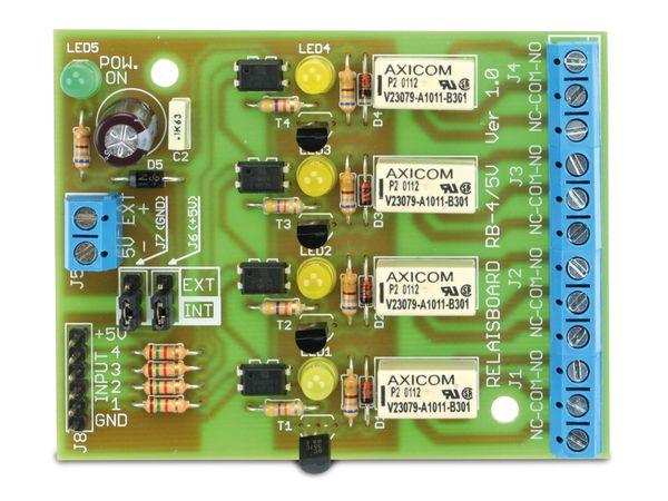 Bausatz Relaiskarte RB-4/5V, 4-Kanal - Produktbild 3