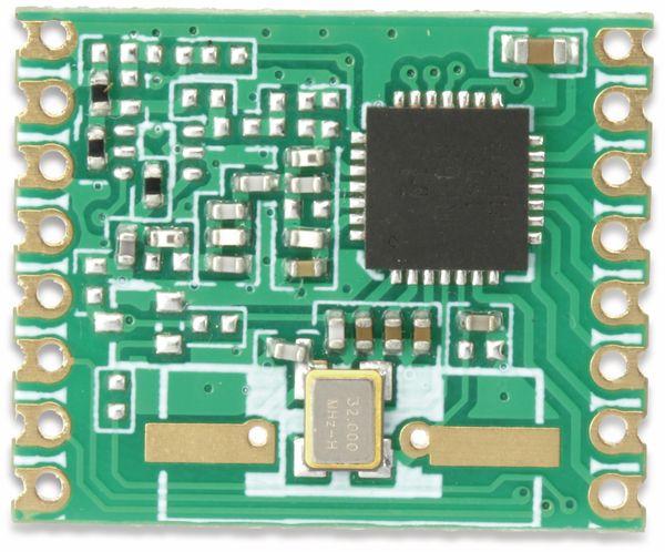 Funkmodul HOPERF RFM69W-433S2, 433 MHz, TX/RX - Produktbild 3