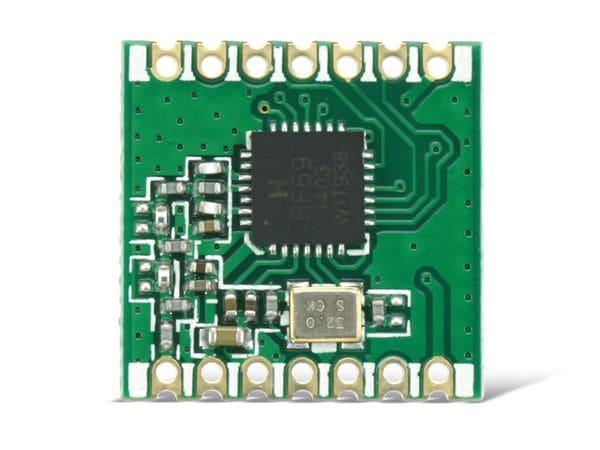 Funkmodul HOPERF RFM69CW, 868 MHz, TX/RX