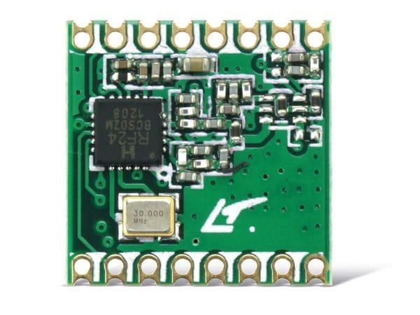 Funkmodul HOPERF RFM24W, 868 MHz, TX/RX