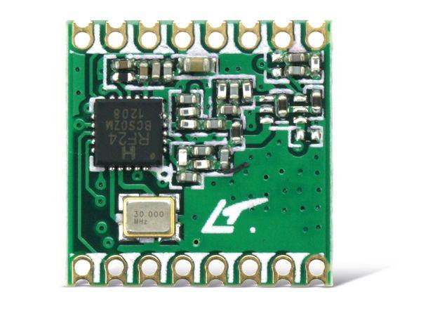 Funkmodul HOPERF RFM24W, 868 MHz, TX/RX - Produktbild 1