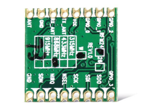 Funkmodul HOPERF RFM24W, 868 MHz, TX/RX - Produktbild 2
