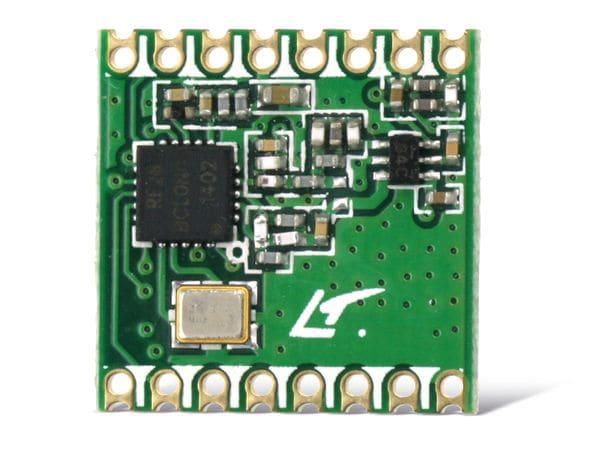 Funkmodul HOPERF RFM26W, 433 MHz, TX/RX - Produktbild 1