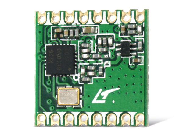Funkmodul HOPERF RFM26W, 868 MHz, TX/RX