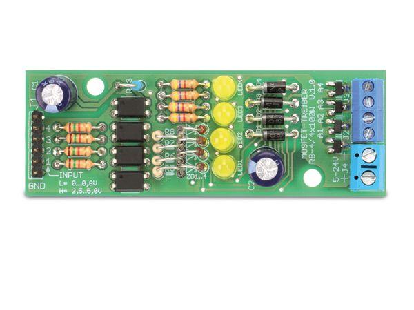 Bausatz Mosfet-Treiber RB-4/4x100W - Produktbild 3