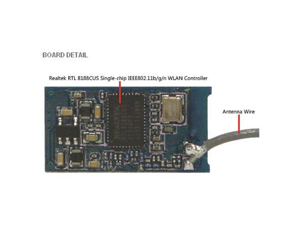 ODROID WIFI MODULE 3, 150 Mbps - Produktbild 3