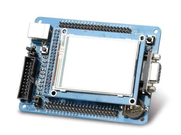"""ARM Cortex-M3 Entwicklungsboard mit 6,1 cm (2,4"""") Touchscreen - Produktbild 1"""