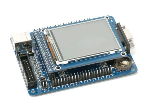 """ARM Cortex-M3 Entwicklungsboard mit 6,1 cm (2,4"""") Touchscreen - Produktbild 2"""