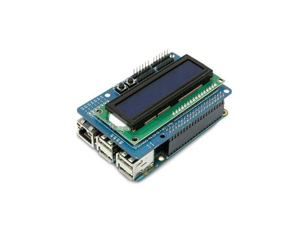 ODROID-C1 16x2 LCD + IO Shield
