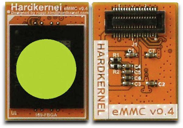 ODROID-C1 eMMC Modul, 8 GB, mit Android - Produktbild 1