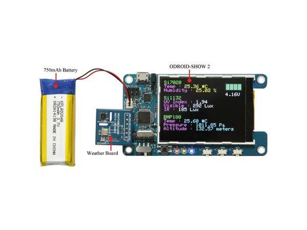 "ODROID-SHOW2, LCD-Board, 2,2"" (5,6 cm) - Produktbild 5"