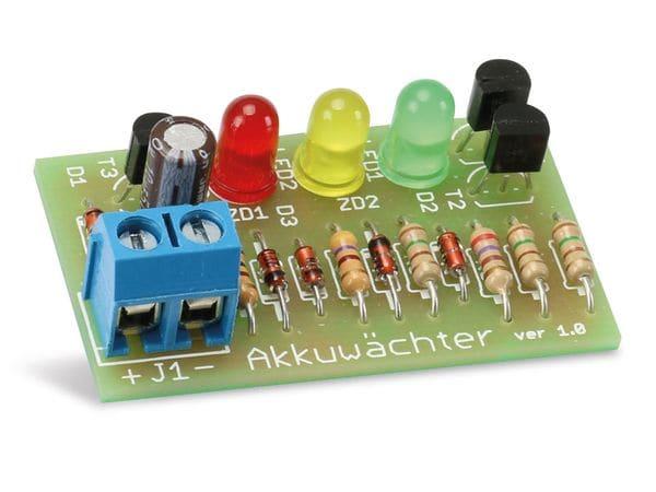 Bausatz 3-Kanal-Akkuwächter 6 V- - Produktbild 2
