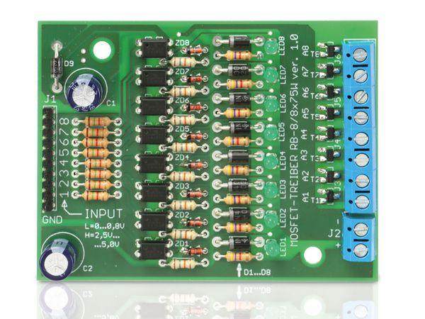 Bausatz Mosfet-Treiber RB-8/8x100W - Produktbild 3