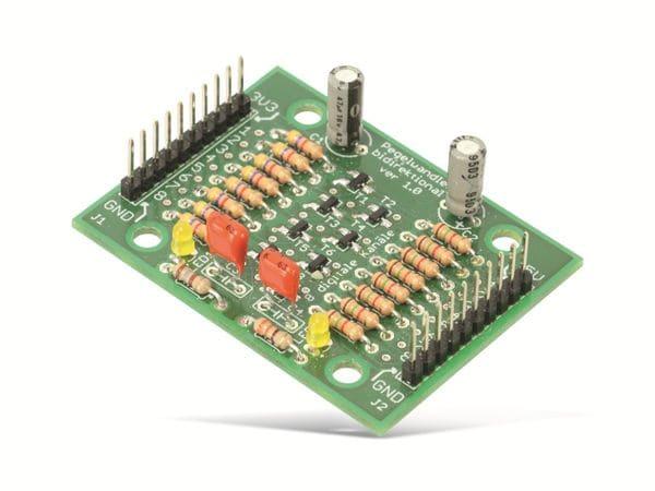 Bausatz 8-Kanal Pegelwandler 3,3 /5 V, digital, bidirektional - Produktbild 2