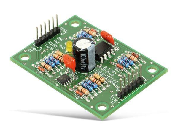 Bausatz Pegelwandler 3,3 V/5 V, analog, bidirektional