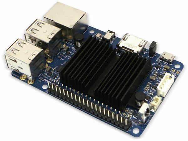 ODROID-C1+ Einplatinen-Computer, 1,5 GHz QuadCore, 4x USB, 1 GB - Produktbild 1