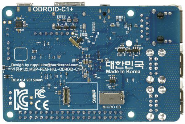 ODROID-C1+ Einplatinen-Computer, 1,5 GHz QuadCore, 4x USB, 1 GB - Produktbild 2