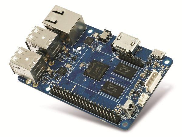 ODROID-C1+ Einplatinen-Computer, 1,5 GHz QuadCore, 4x USB, 1 GB - Produktbild 3