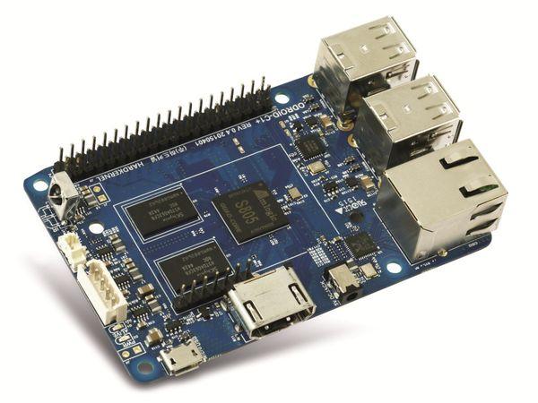ODROID-C1+ Einplatinen-Computer, 1,5 GHz QuadCore, 4x USB, 1 GB - Produktbild 4