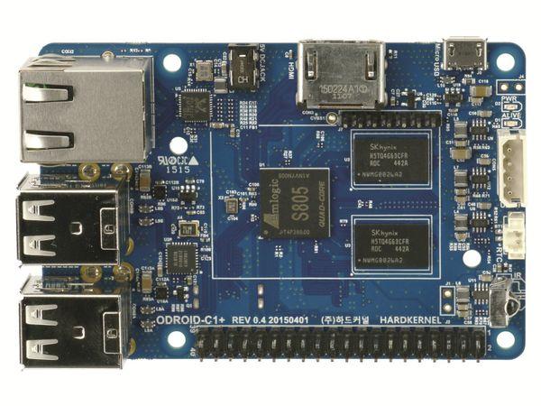 ODROID-C1+ Einplatinen-Computer, 1,5 GHz QuadCore, 4x USB, 1 GB - Produktbild 5
