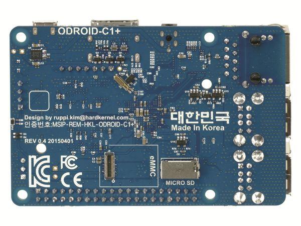 ODROID-C1+ Einplatinen-Computer, 1,5 GHz QuadCore, 4x USB, 1 GB - Produktbild 6