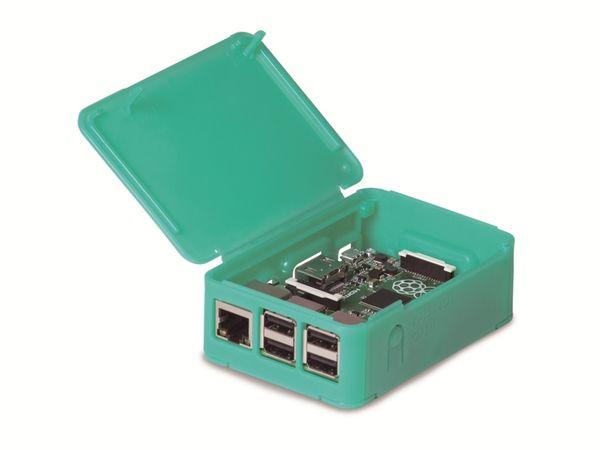 Raspberry Pi Model B+/2 OKW Gehäuse, grün - Produktbild 2