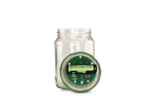 Lötbausatz Solar-Gurkenglaslampe - Produktbild 1