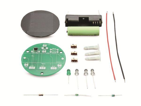 Lötbausatz Solar-Gurkenglaslampe - Produktbild 4