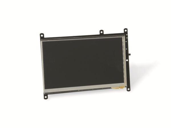 """17,8 cm (7"""") Multitouch TFT-Display mit HDMI-Anschluss ODROID-VU7 PLUS - Produktbild 1"""