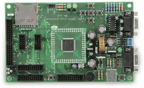 SAMxS Evaluationsboard mit SAM4S-256KB - Produktbild 4