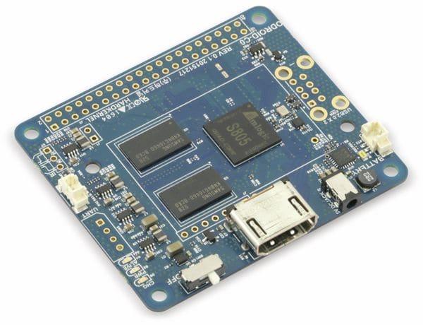 ODROID-C0 Einplatinencomputer, 1,5 GHz Quadcore, 1 GB DDR3 - Produktbild 1