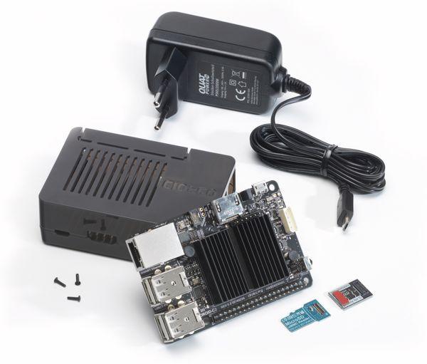 ODROID-C2-Set mit 8 GB eMMC Modul, Gehäuse und Netzteil