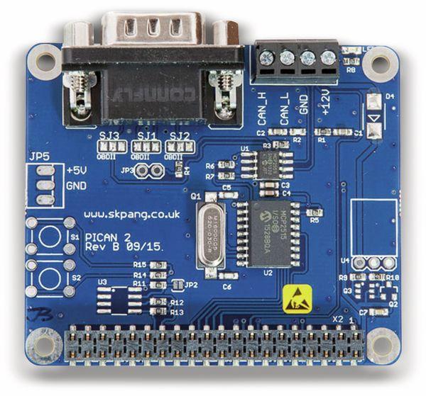 Raspberry Pi PiCAN 2 - Produktbild 1