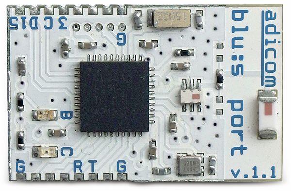 Bluetooth Erweiterungsmodul Blu:s Port, TI CC2541F256