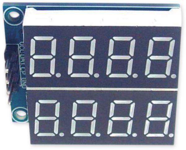 Digitalanzeige Modul DAYPOWER LED-Display-Dig-2R