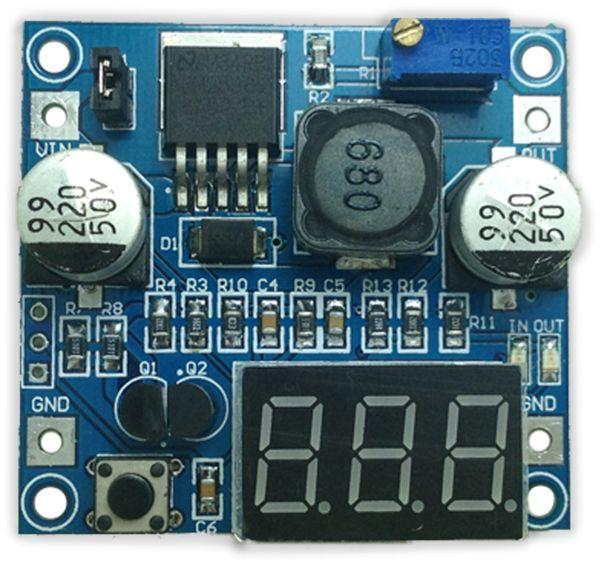 Step-Down-Modul mit Spannungsanzeige DAYPOWER POWER-2596-2