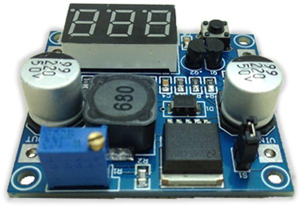 Step-Down-Modul mit Spannungsanzeige DAYPOWER POWER-2596-2 - Produktbild 2