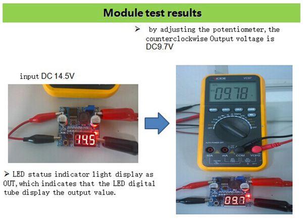 Step-Down-Modul mit Spannungsanzeige DAYPOWER POWER-2596-2 - Produktbild 5