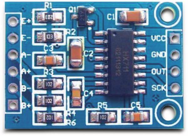 A/D Wandler Modul DAYPOWER HX7-11