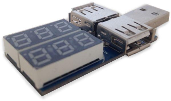 LC-Voltmeter-Modul DAYPOWER, USB - Produktbild 1