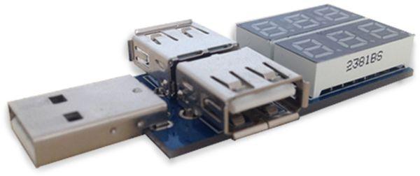 LC-Voltmeter-Modul DAYPOWER, USB - Produktbild 2